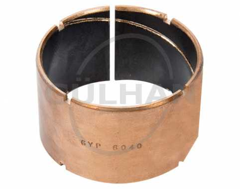 Bronze Bushing (Inside Ptfe With Channel)